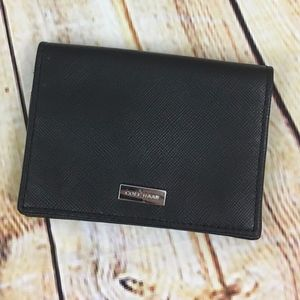 Cole Haan Leather Saffiano Wallet Card Holder